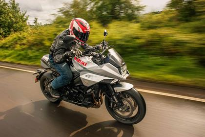 Riding the Suzuki Katana