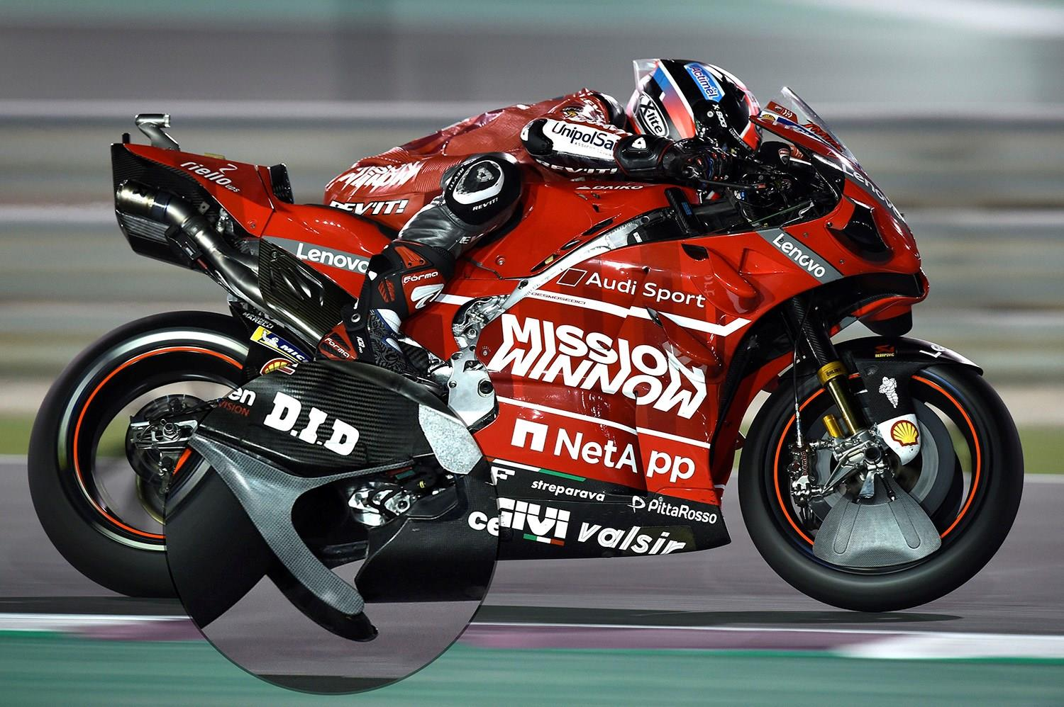 MotoGP: Court of appeal reject protests against Ducati spoiler