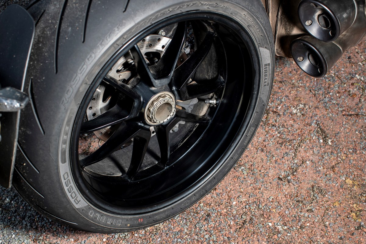 MCN Fleet: It's touring time for the Diavel