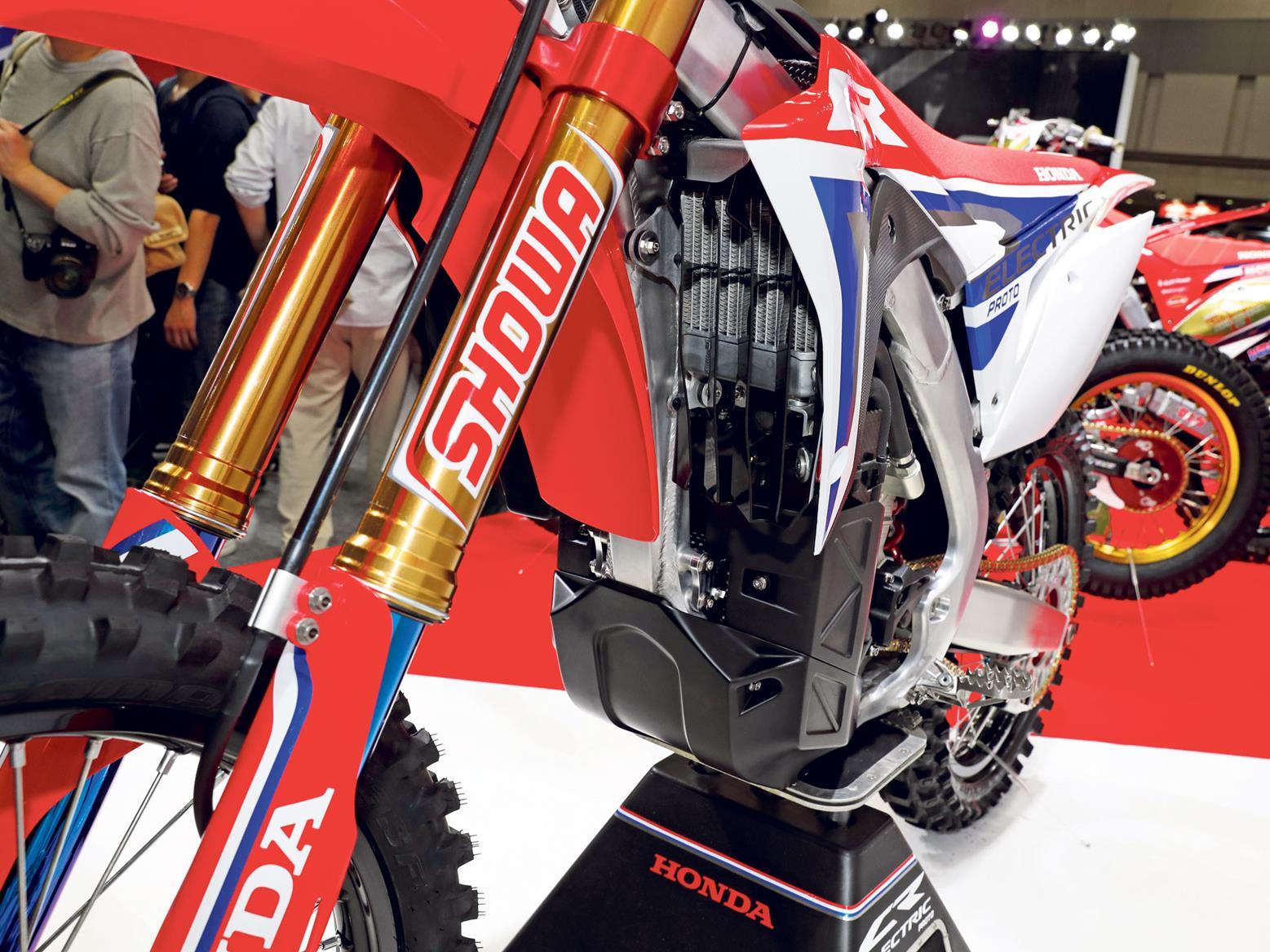 30146eb4d9b ... bike front forks Honda CR-E electric powertrain ...