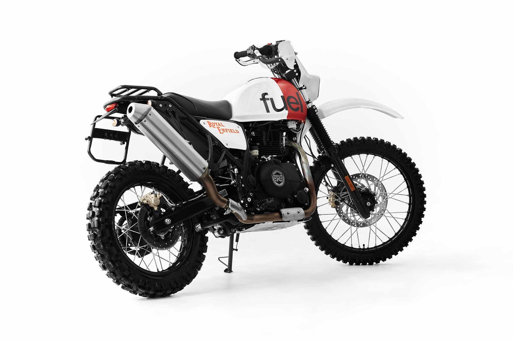 Suzuki Motorcycles For Sale >> Fuel Motorcycles create Dakar-inspired Royal Enfield Himalayan