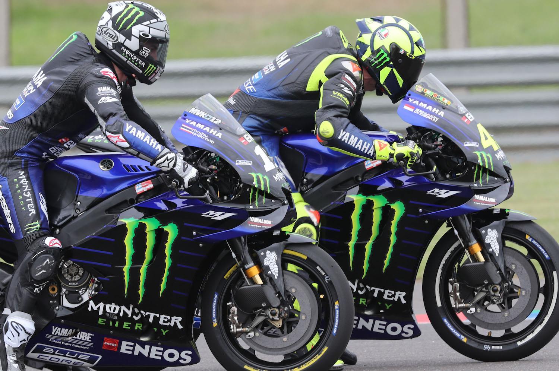 MotoGP: Rossi and Viñales get a grip