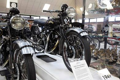 Reasons to visit the National Motorcycle Museum