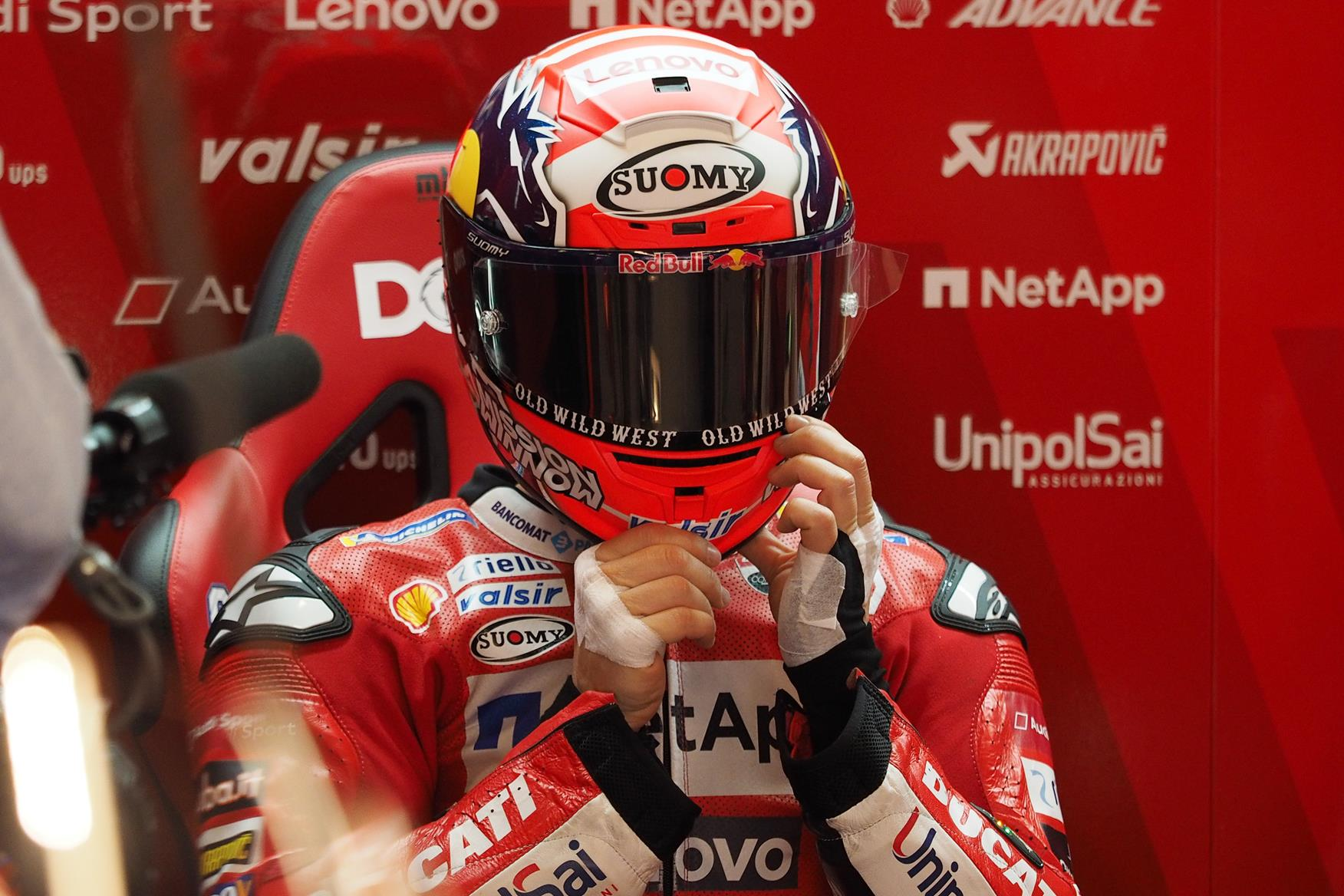 MotoGP: Top riders forced to use rival helmet brands