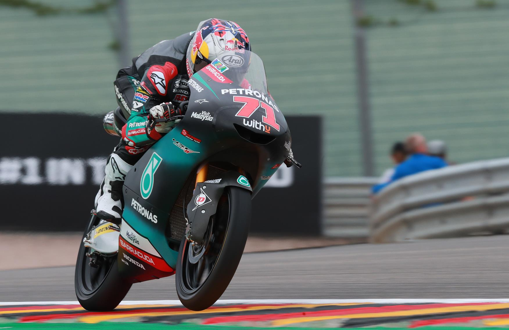 Sachsenring Moto3: Top 21 covered by less than a second at end of first day