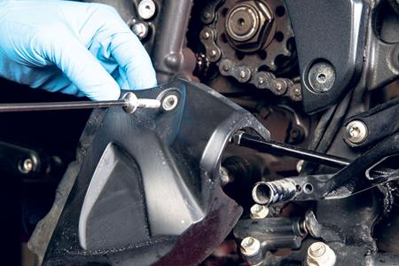 The missing link? How to look after your motorbike chain
