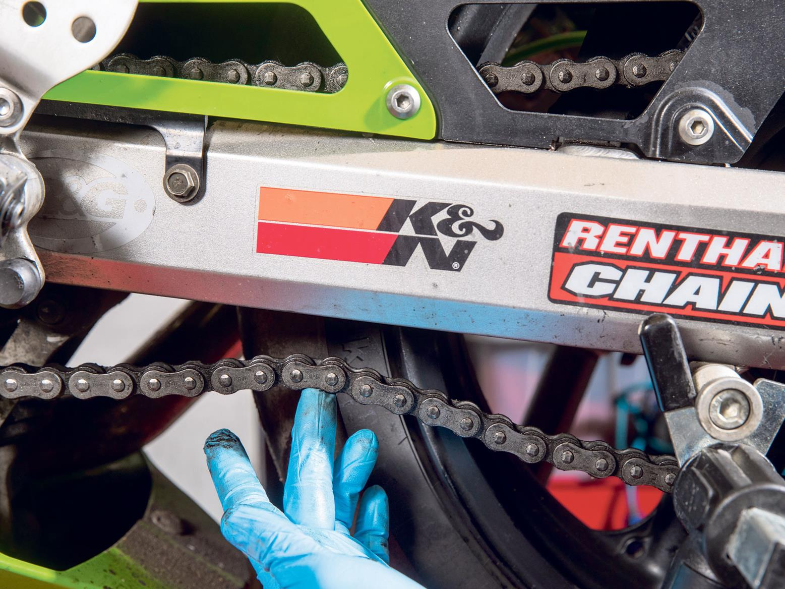 How to look after your motorbike chain