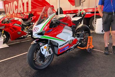 Special Ducati Panigale V4 S to be auctioned for Nicky Hayden Foundation