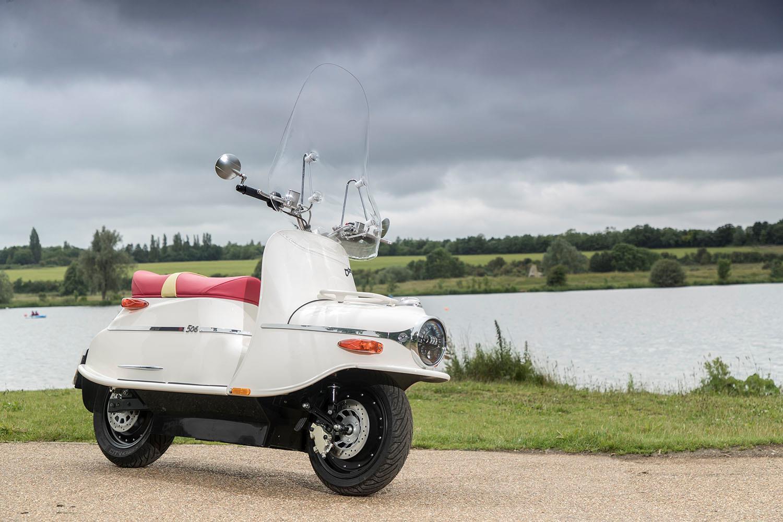 Čezeta electric scooter revives Cold War classic