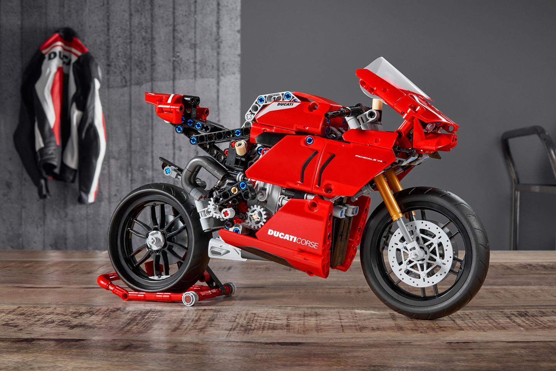 Bricking it! Lifesize Lego Ducati Panigale V4 R revealed   MCN