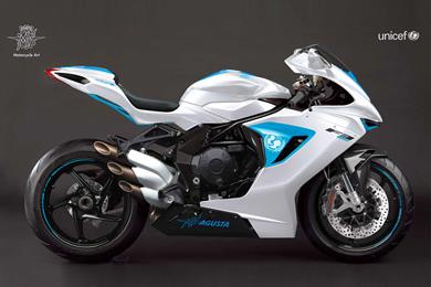 MV Agusta supports UNICEF charity with one-off F3 800