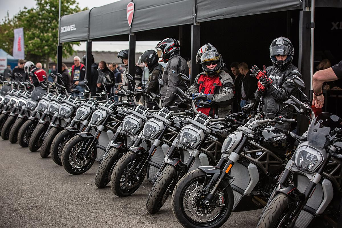 Ducati Roadshow rolls into the Bike Shed