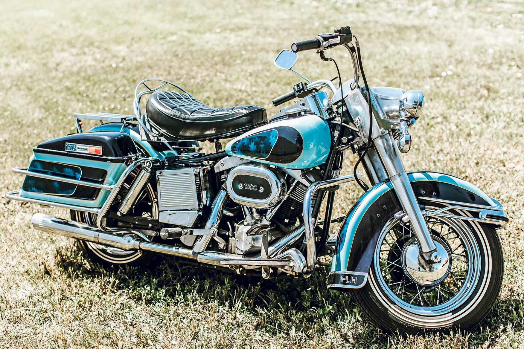 Elvis' 1976 Harley-Davidson FLH is set to become the most expensive bike sold at auction