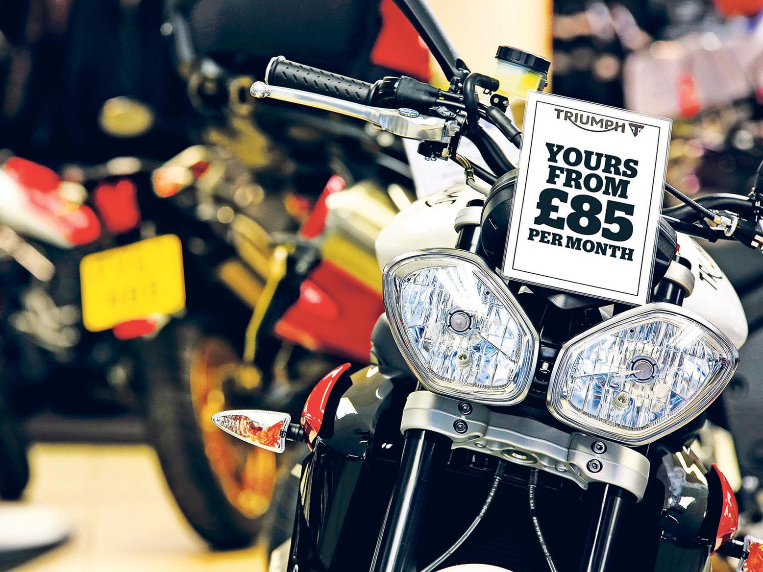 PCP, HP, credit card or loan? Motorbike finance explained
