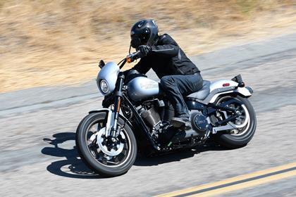 Harley-Davidson Lowrider S left side