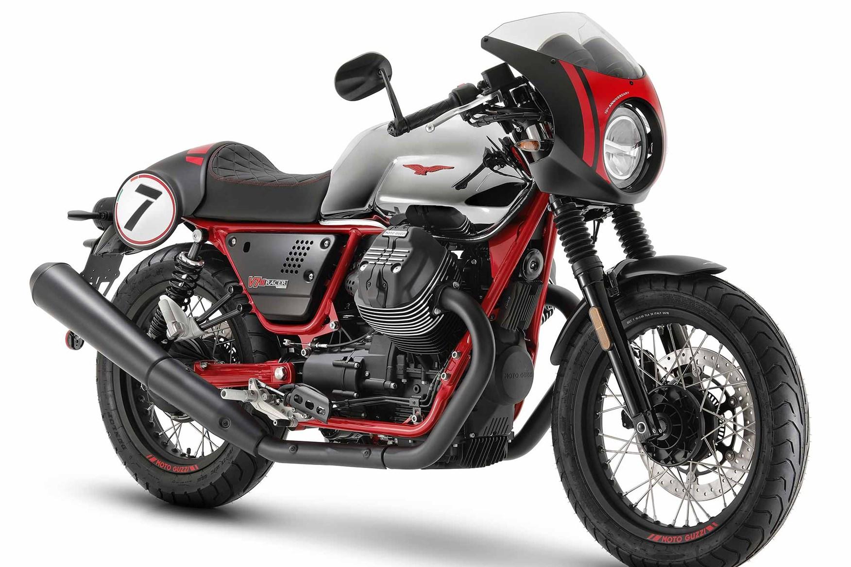 Moto Guzzi reveal two new V7 III Racers for 2020
