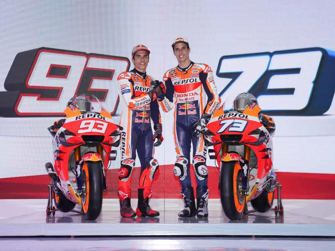 2020 Repsol Honda livery unveiled by the Marquez brothers