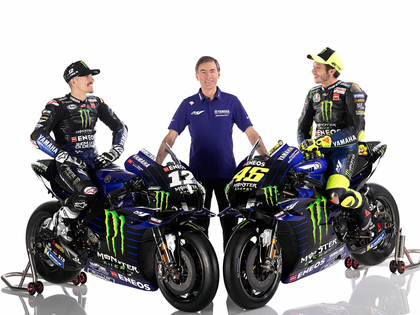 Monster Energy Yamaha unveil 2020 Livery