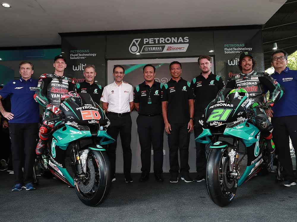 2020 Petronas Yamaha livery revealed at Sepang