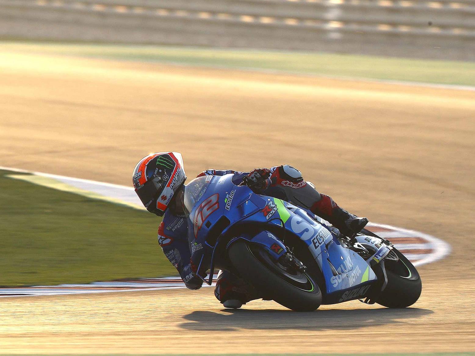 MotoGP: Suzuki in control after day one of the Qatar test