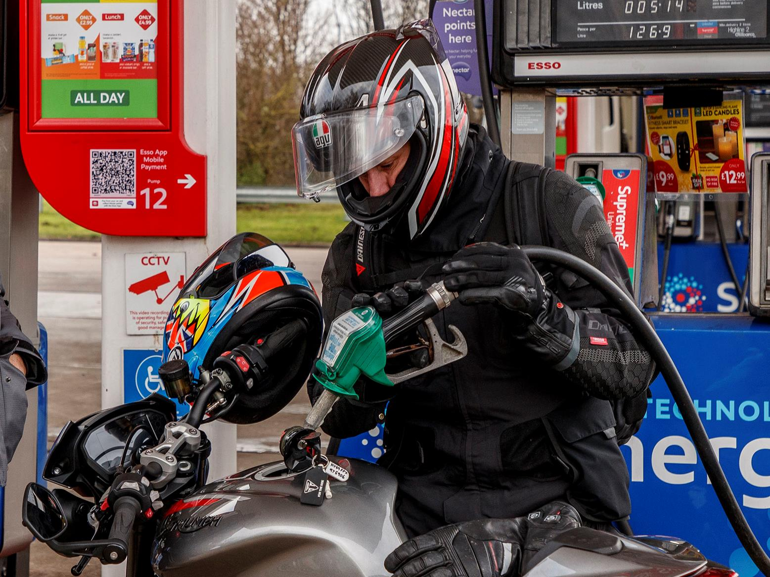 Image result for e 10 fuel motorcyle