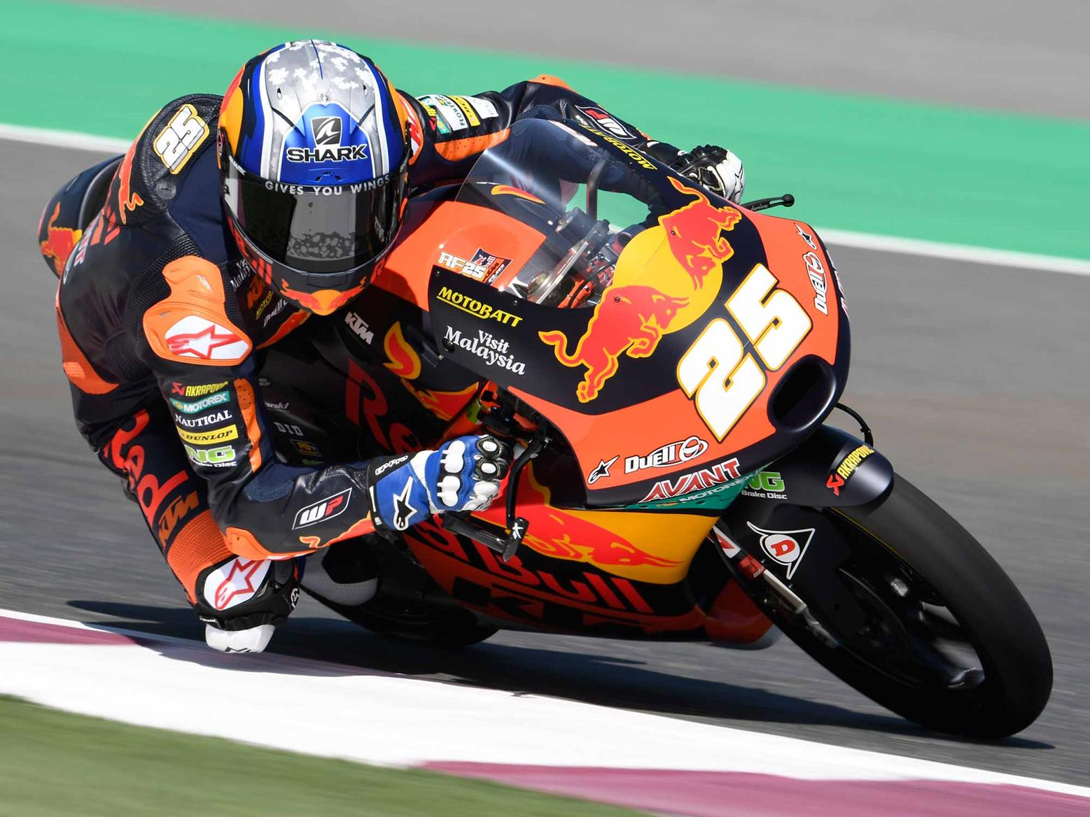 Raul Fernandez tops the opening day of practice in Qatar