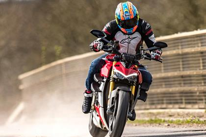 Taking a spin on the Ducati Streetfighter V4 S