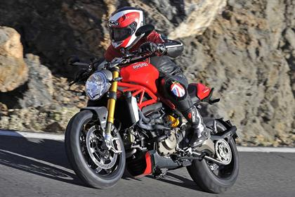 Ducati Monster 1200 left side