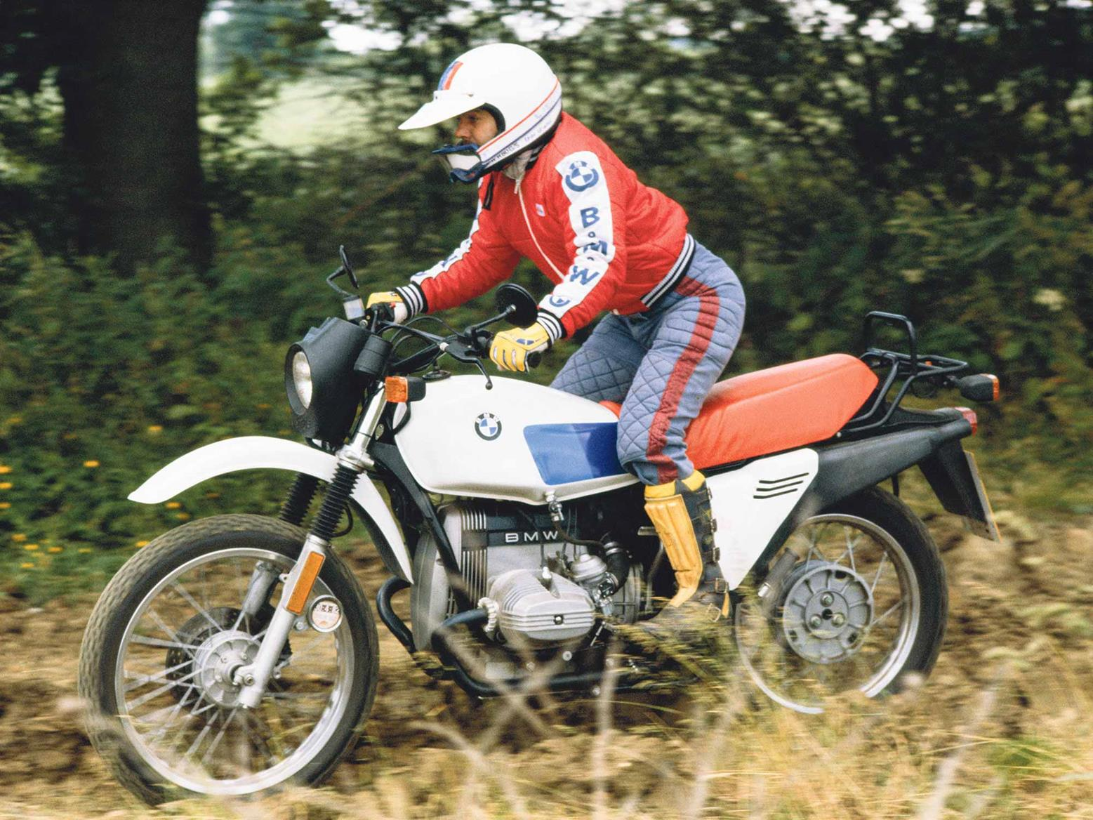 Forty Years Of The Gs Original Bmw R80g S Designer Tells Us The Untold Story Mcn