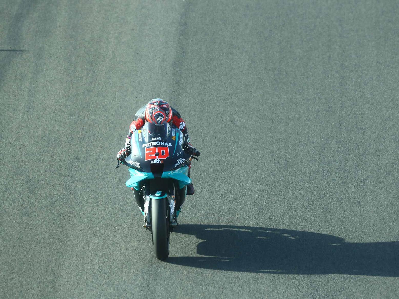 Motogp Fabio Quartararo Storms To Victory At Jerez As Yamaha Lockout The Podium Mcn