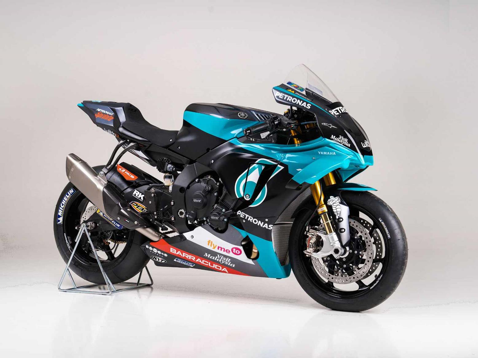 Yamaha Europe And Yart Team Up For Limited Run Petronas Motogp Replica R1 Mcn