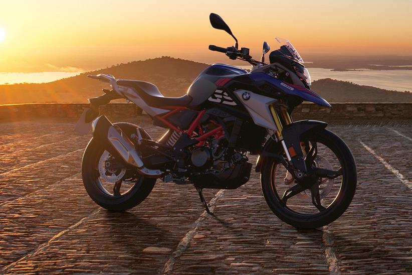 BMW G310GS in Rallye colours
