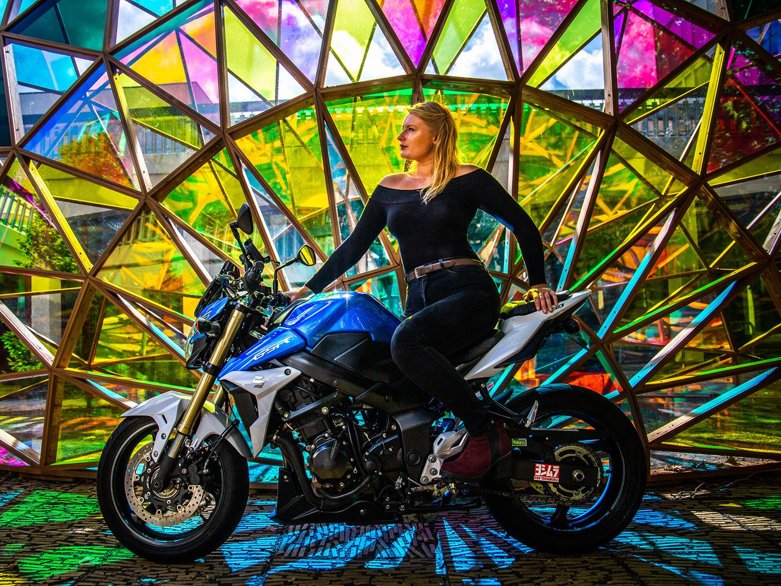 Female riders launch calendar in aid of ovarian cancer charity
