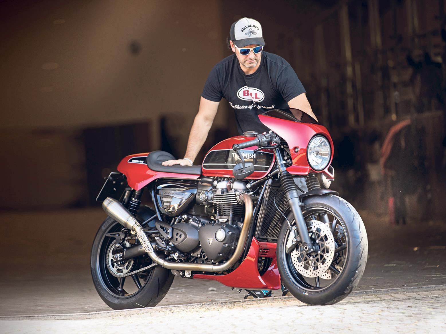 Triumph Speed Twin Cafe Racer Kit Helps Turn Roadster Into Speedster Mcn