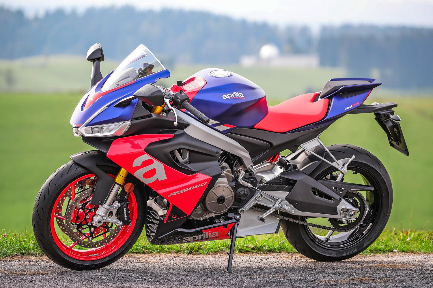 Half a superbike, twice the fun: your in-depth look at Aprilia's new 660 motor