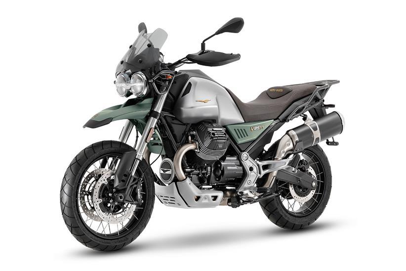 Moto Guzzi V85 TT Cenenario edition