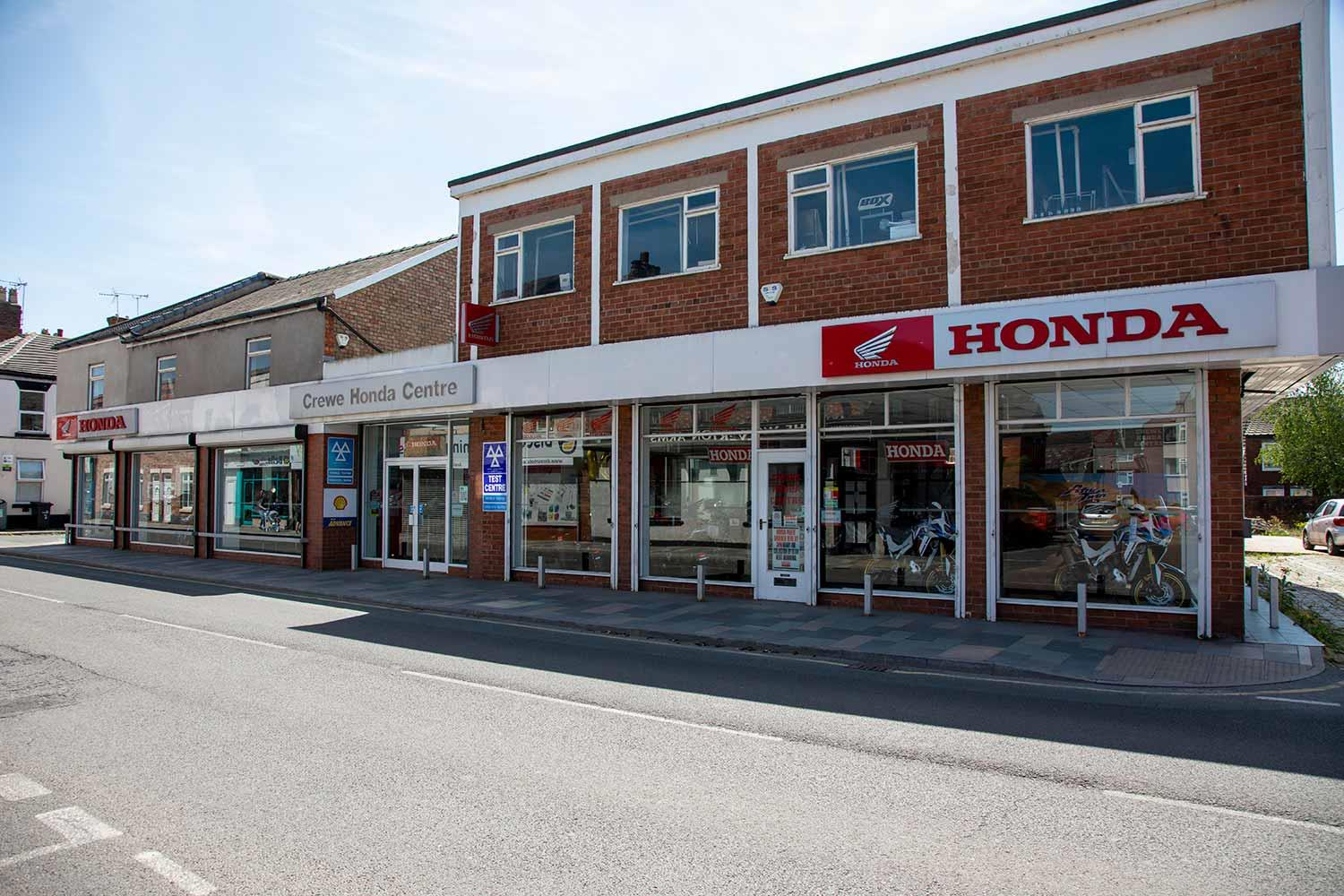 Crewe Honda dealership transformed into Covid vaccination centre free of charge