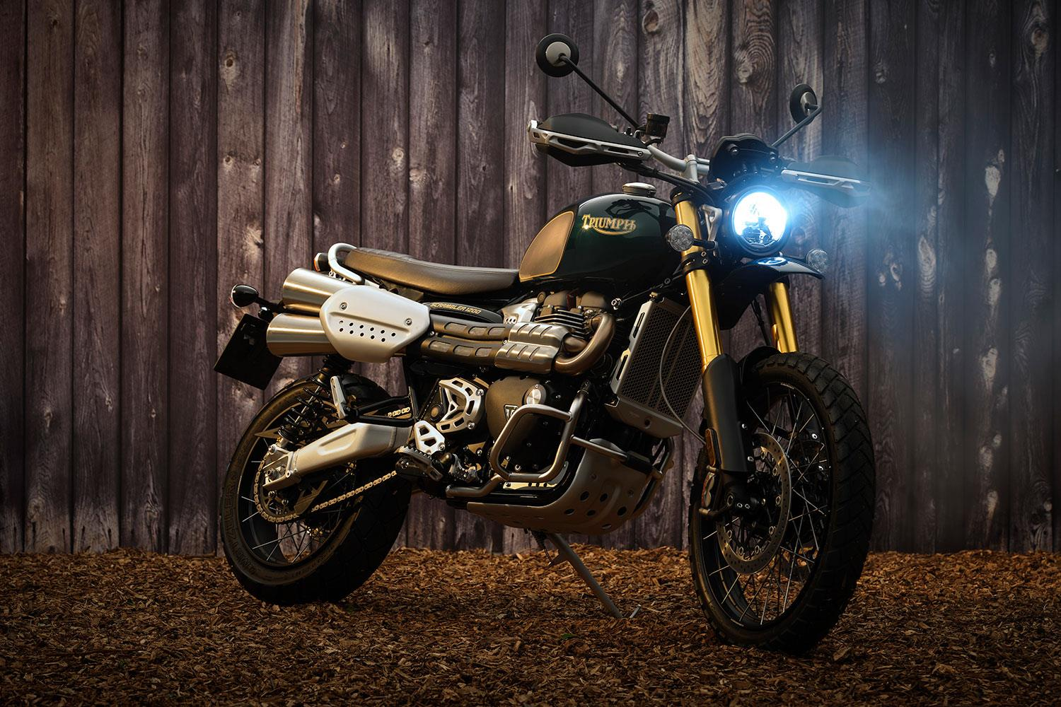 Triumph's new King of Cool: Steve McQueen edition Scrambler 1200 unveiled alongside updates
