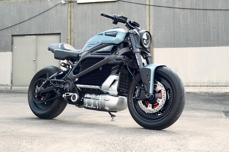 Shock treatment: JvBMoto customise Harley-Davidson LiveWire