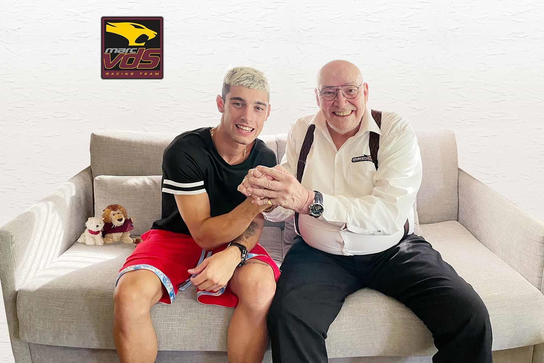 MotoGP: Tony Arbolino joins Elf Marc VDS for 2022 Moto2 season - Motorcycle News