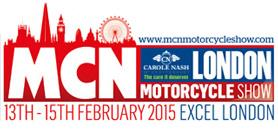 MCN London Motorcycle Show, February 13-15, 2015