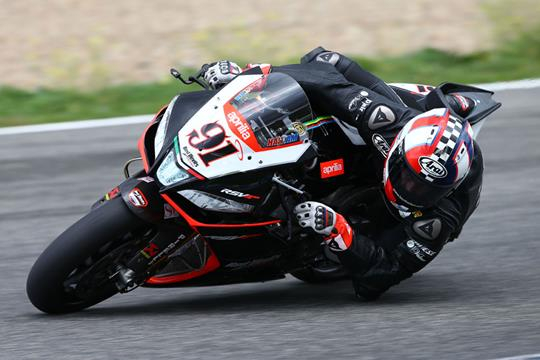 Haslam scores big on day one of Jerez test