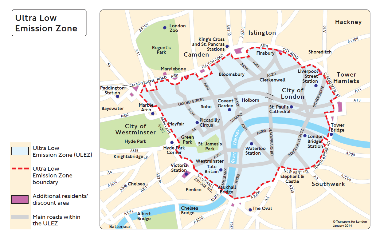 Bikes Facing London Congestion Charge Mcn