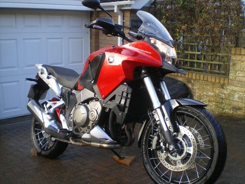 Bike Of The Day Honda Vfr1200x Crosstourer Mcn