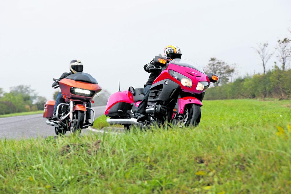 Brash But Brilliant Honda F6b Vs Harley Road Glide Special Vs