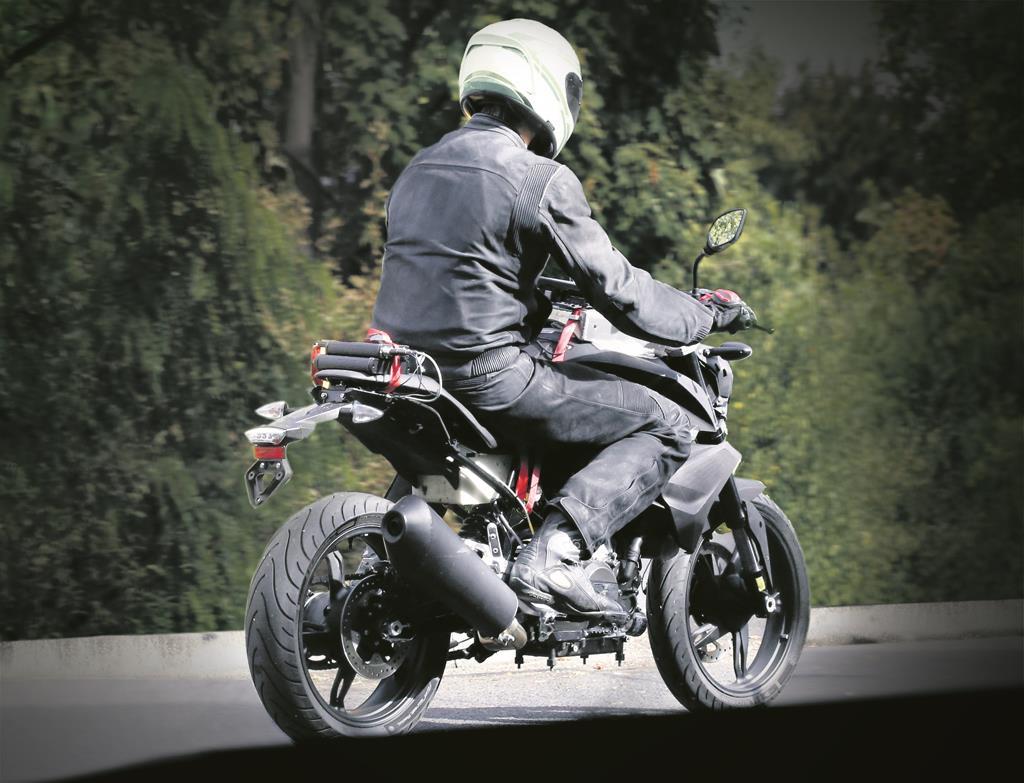 TVS-BMW starts testing its first bike; spied in Germany