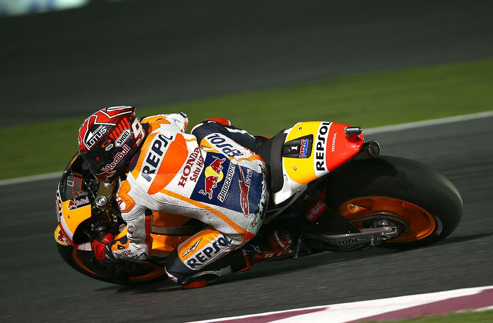 Qatar MotoGP: Marquez back on top on day one | MCN