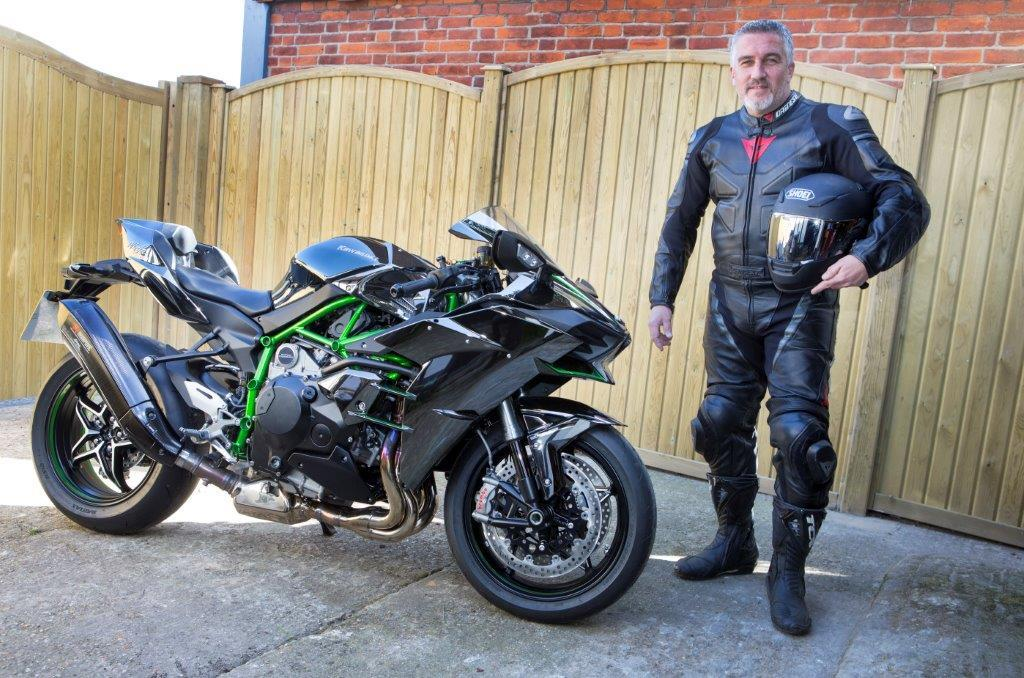 Paul Hollywood Takes Delivery Of Kawasaki H2 Mcn