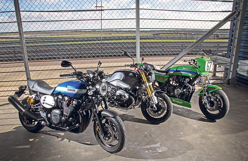 Retro racers yamaha xjr1300 vs bmw r nine t mcn for Yamaha r9 motorcycle