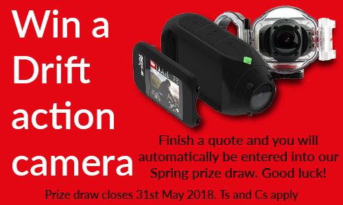 Win a Drift action camera with MCN Compare